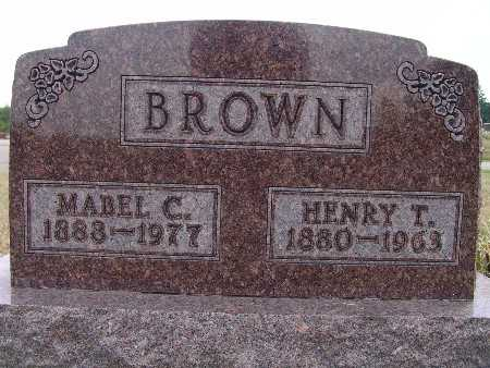 BROWN, HENRY T. - Warren County, Iowa | HENRY T. BROWN