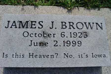 BROWN, JAMES J. - Warren County, Iowa | JAMES J. BROWN