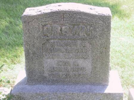 BARTLETT BROWN, EVA GERTRUDE - Warren County, Iowa | EVA GERTRUDE BARTLETT BROWN