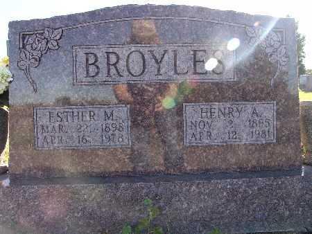 BROYLES, HENRY A. - Warren County, Iowa | HENRY A. BROYLES