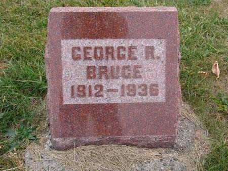 BRUCE, GEORGE R. - Warren County, Iowa | GEORGE R. BRUCE