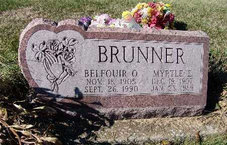 BRUNNER, MYRTLE E. - Warren County, Iowa | MYRTLE E. BRUNNER