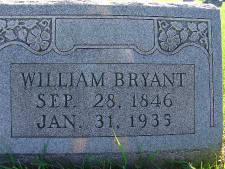 BRYANT, WILLIAM - Warren County, Iowa | WILLIAM BRYANT