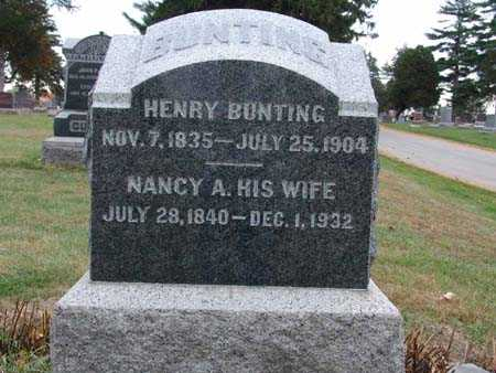 BUNTING, NANCY A. - Warren County, Iowa | NANCY A. BUNTING