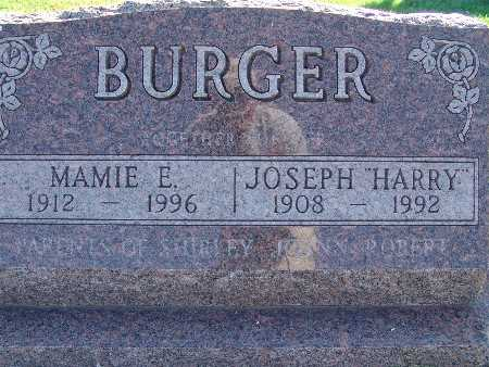 BURGER, MAMIE E. - Warren County, Iowa | MAMIE E. BURGER