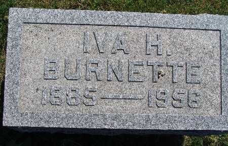 BURNETTE, IVA H. - Warren County, Iowa | IVA H. BURNETTE