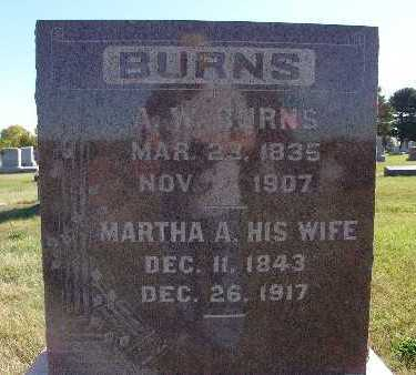 BURNS, MARTHA A. - Warren County, Iowa | MARTHA A. BURNS