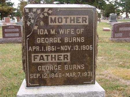 BURNS, IDA M. - Warren County, Iowa | IDA M. BURNS