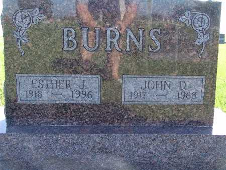 BURNS, ESTHER J - Warren County, Iowa | ESTHER J BURNS
