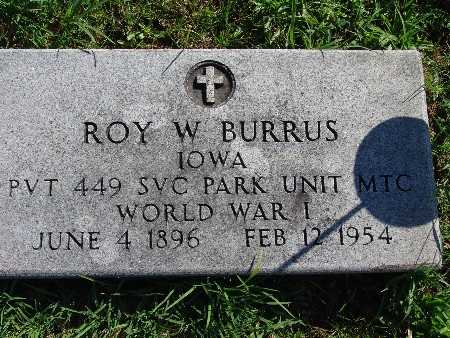 BURRUS, ROY W - Warren County, Iowa | ROY W BURRUS
