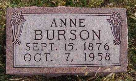 BURSON, ANNE - Warren County, Iowa | ANNE BURSON
