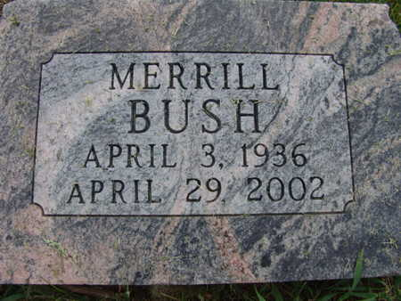 BUSH, MERRILL - Warren County, Iowa | MERRILL BUSH