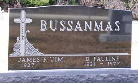 BUSSANMAS, JAMES F.  (JIM) - Warren County, Iowa | JAMES F.  (JIM) BUSSANMAS