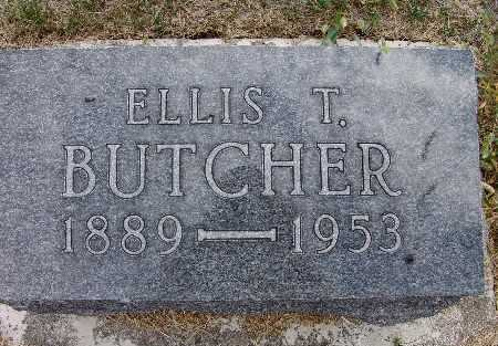 BUTCHER, ELLIS T. - Warren County, Iowa | ELLIS T. BUTCHER
