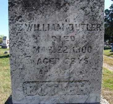 BUTLER, WILLIAM - Warren County, Iowa | WILLIAM BUTLER