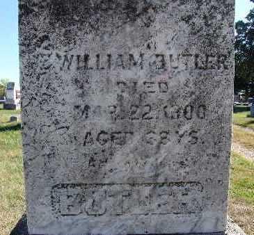 BUTLER, WILLIAM - Warren County, Iowa | WILLIAM BUTLER