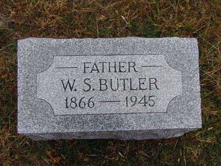 BUTLER, W. S. - Warren County, Iowa | W. S. BUTLER