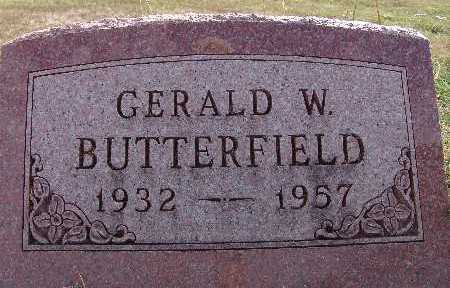 BUTTERFIELD, GERALD W. - Warren County, Iowa | GERALD W. BUTTERFIELD