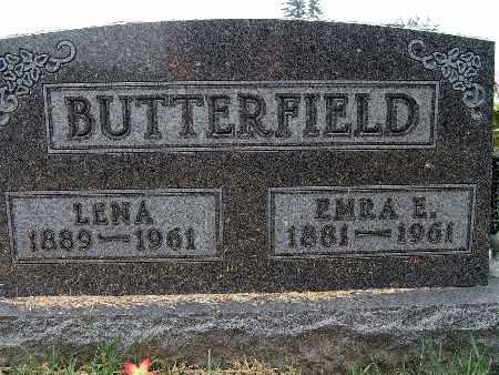 BUTTERFIELD, EMRA E. - Warren County, Iowa | EMRA E. BUTTERFIELD