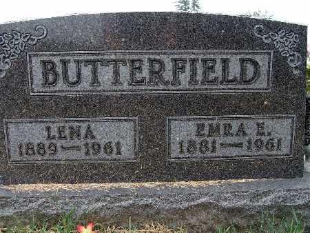 BUTTERFIELD, LENA - Warren County, Iowa | LENA BUTTERFIELD