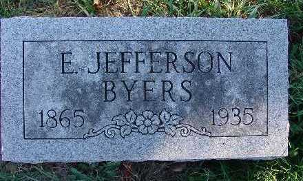 BYERS, E. JEFFERSON - Warren County, Iowa | E. JEFFERSON BYERS