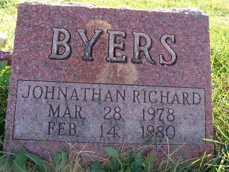 BYERS, JOHNATHAN RICHARD - Warren County, Iowa | JOHNATHAN RICHARD BYERS