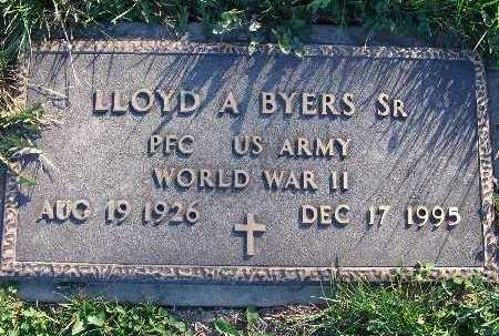 BYERS, LLOYD A. SR. - Warren County, Iowa | LLOYD A. SR. BYERS