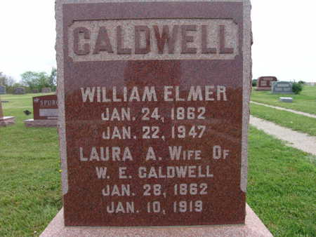 CALDWELL, WILLIAM ELMER - Warren County, Iowa | WILLIAM ELMER CALDWELL