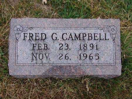 CAMPBELL, FRED G. - Warren County, Iowa | FRED G. CAMPBELL