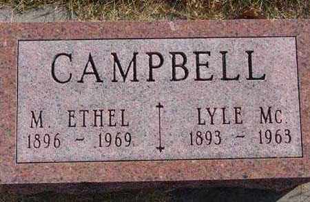 CAMPBELL, M. ETHEL - Warren County, Iowa | M. ETHEL CAMPBELL