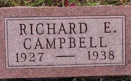 CAMPBELL, RICHARD E. - Warren County, Iowa | RICHARD E. CAMPBELL