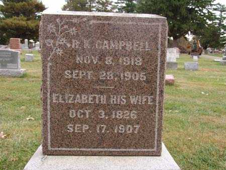 CAMPBELL, ELIZABETH - Warren County, Iowa | ELIZABETH CAMPBELL