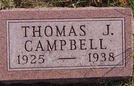 CAMPBELL, THOMAS J. - Warren County, Iowa | THOMAS J. CAMPBELL