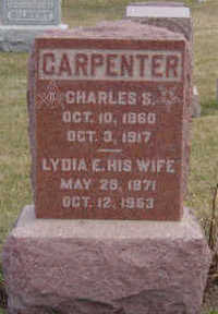 CARPENTER, LYDIA E - Warren County, Iowa | LYDIA E CARPENTER