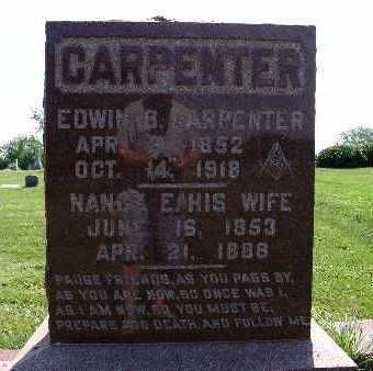 CARPENTER, NANCY E. - Warren County, Iowa | NANCY E. CARPENTER