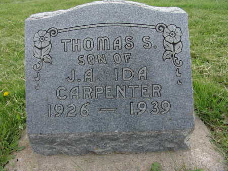 CARPENTER, THOMAS S. - Warren County, Iowa | THOMAS S. CARPENTER