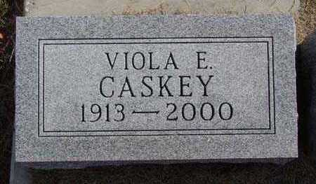 CASKEY, VIOLA E. - Warren County, Iowa | VIOLA E. CASKEY