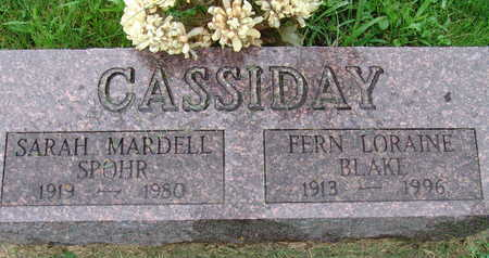 CASSIDAY, FERN LORAINE BLAKE - Warren County, Iowa | FERN LORAINE BLAKE CASSIDAY