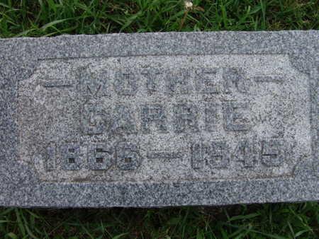 CHAMBERS, CARRIE - Warren County, Iowa   CARRIE CHAMBERS