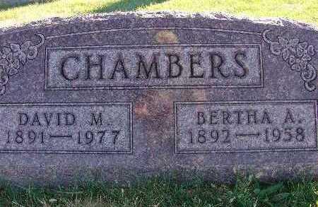 CHAMBERS, DAVID M. - Warren County, Iowa | DAVID M. CHAMBERS