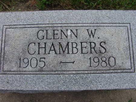 CHAMBERS, GLENN W - Warren County, Iowa | GLENN W CHAMBERS