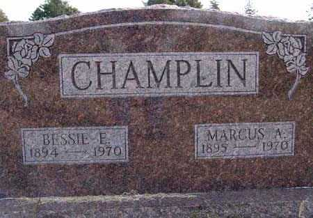 CHAMPLIN, BESSIE E. - Warren County, Iowa | BESSIE E. CHAMPLIN