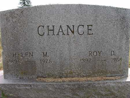 CHANCE, ROY D. - Warren County, Iowa | ROY D. CHANCE