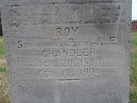 CHANDLER, ROY - Warren County, Iowa | ROY CHANDLER