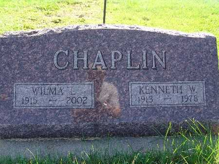 CHAPLIN, KENNETH W - Warren County, Iowa | KENNETH W CHAPLIN