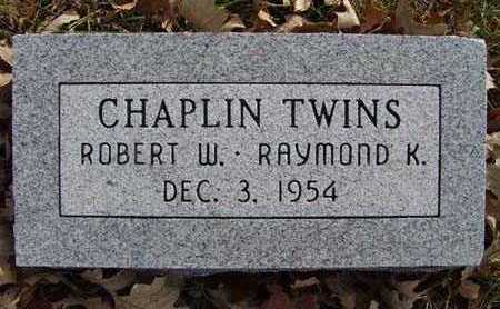CHAPLIN, ROBERT W. - Warren County, Iowa | ROBERT W. CHAPLIN
