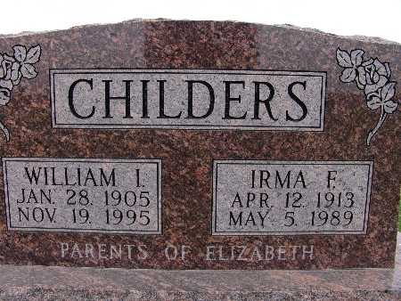 CHILDERS, IRMA F. - Warren County, Iowa | IRMA F. CHILDERS