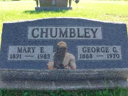 CHUMBLEY, GEORGE G - Warren County, Iowa | GEORGE G CHUMBLEY