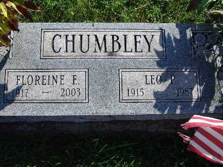 CHUMBLEY, FLOREINE E - Warren County, Iowa | FLOREINE E CHUMBLEY