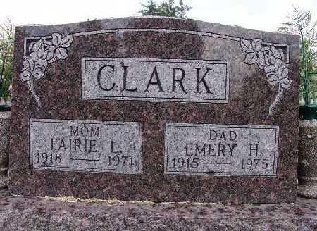 CLARK, FAIRIE L. - Warren County, Iowa | FAIRIE L. CLARK